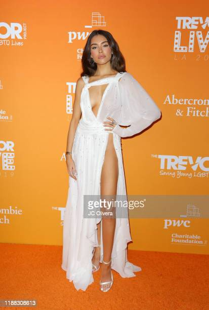 Madison Beer attends the 2019 TrevorLive Los Angeles Gala at The Beverly Hilton Hotel on November 17 2019 in Beverly Hills California