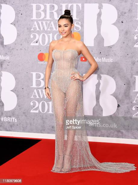 Madison Beer attends The BRIT Awards 2019 held at The O2 Arena on February 20 2019 in London England