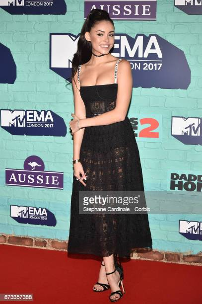 Madison Beer attends the MTV EMAs 2017 at The SSE Arena Wembley on November 12 2017 in London England
