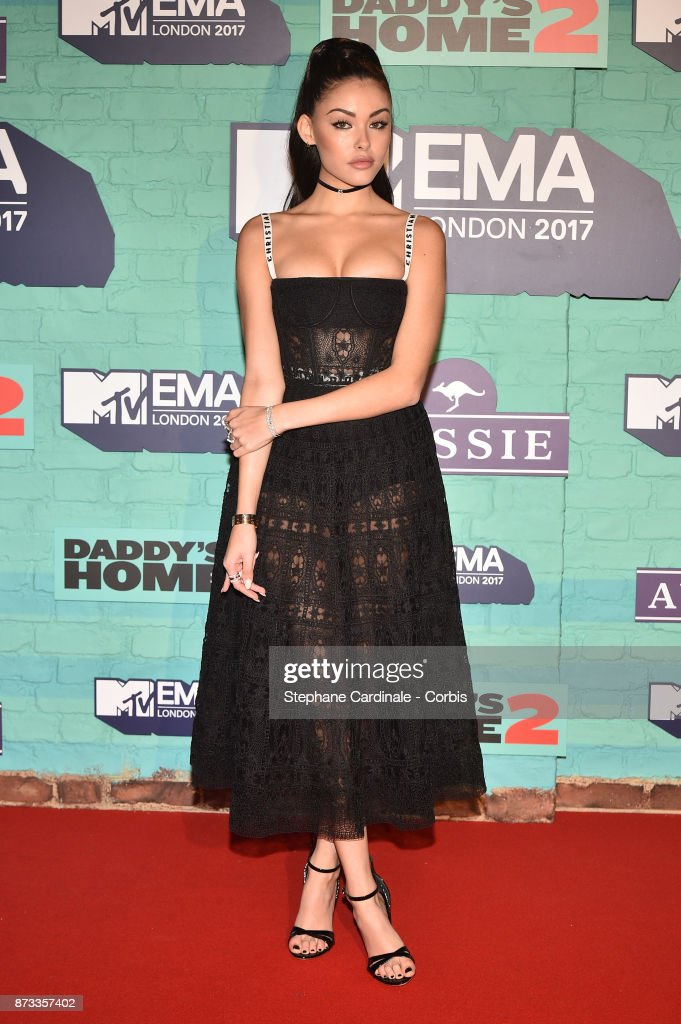 Madison Beer attends the MTV EMAs 2017 at The SSE Arena, Wembley on November 12, 2017 in London, England.