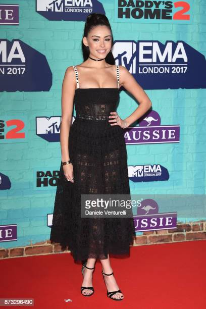 Madison Beer attends the MTV EMAs 2017 held at The SSE Arena Wembley on November 12 2017 in London England