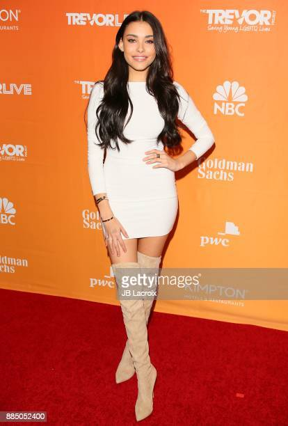 Madison Beer attends The Trevor Project's 2017 TrevorLIVE LA on December 3 2017 in Beverly Hills California