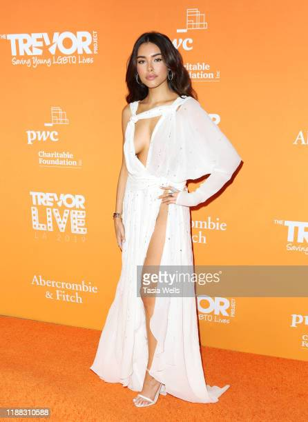 Madison Beer attends The Trevor Project's TrevorLIVE LA 2019 at The Beverly Hilton Hotel on November 17, 2019 in Beverly Hills, California.