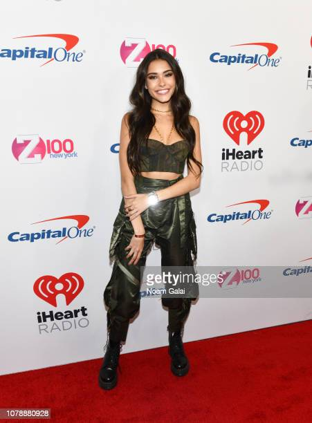 Madison Beer attends Z100's Jingle Ball 2018 at Madison Square Garden on December 07, 2018 in New York City.