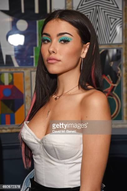 Madison Beer hosts the Wonderland Summer Issue dinner at The Ivy Soho Brasserie on June 5 2017 in London England