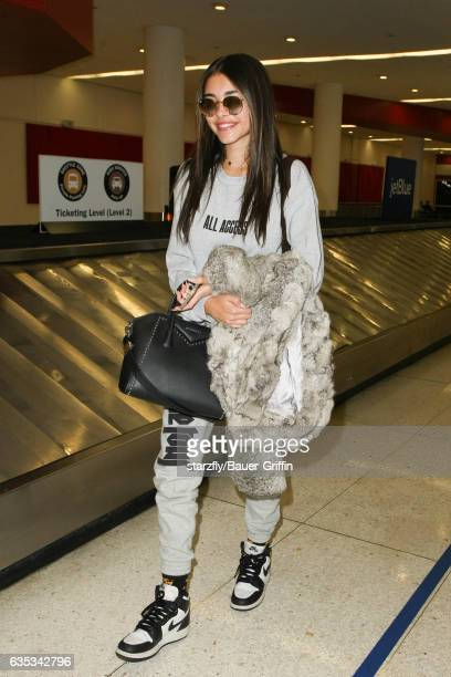 Madison Beer is seen at LAX on February 14 2017 in Los Angeles California