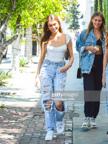 Madison Beer is seen on April 22 2019 in Los Angeles California