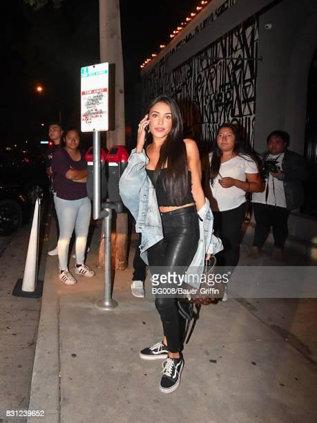 Madison Beer is seen on August 13 2017 in Los Angeles California