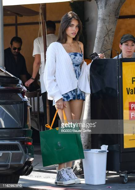 Madison Beer is seen on August 20, 2019 in Los Angeles, California.