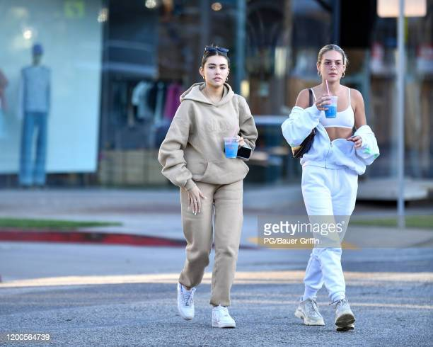 Madison Beer is seen on February 13, 2020 in Los Angeles, California.