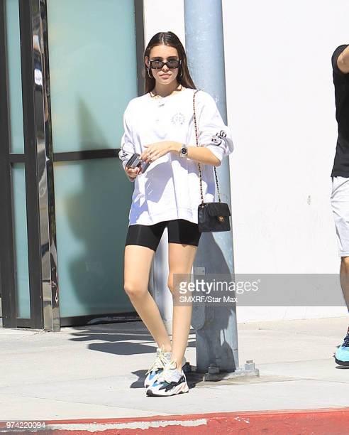Madison Beer is seen on June 13 2018 in Los Angeles CA