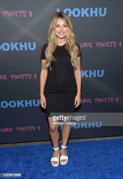 Madison Bontempo attends the premiere party for LookHu's Slasher Party at ArcLight Hollywood on September 18 2018 in Hollywood California