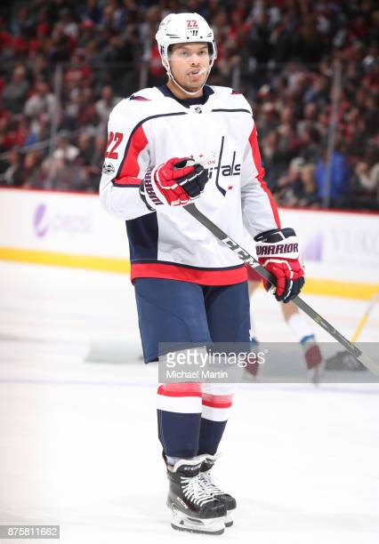 Madison Bowey of the Washington Capitals skates against the Colorado Avalanche at the Pepsi Center on November 16 2017 in Denver Colorado The...