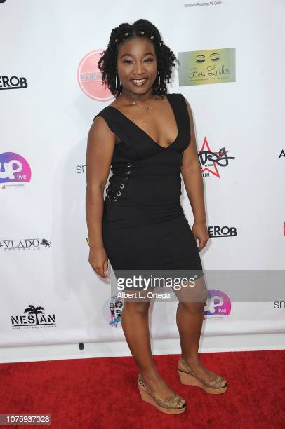 Madison Bronson arrives for The Party Scene Hosts The Meetup held at Starwest Studios on December 29 2018 in Burbank California