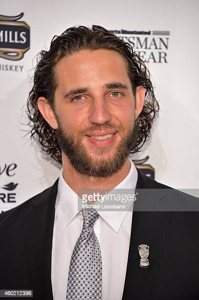 Madison Bumgarner attends the Sportsman Of The Year 2014 Ceremony on December 9 2014 in New York City