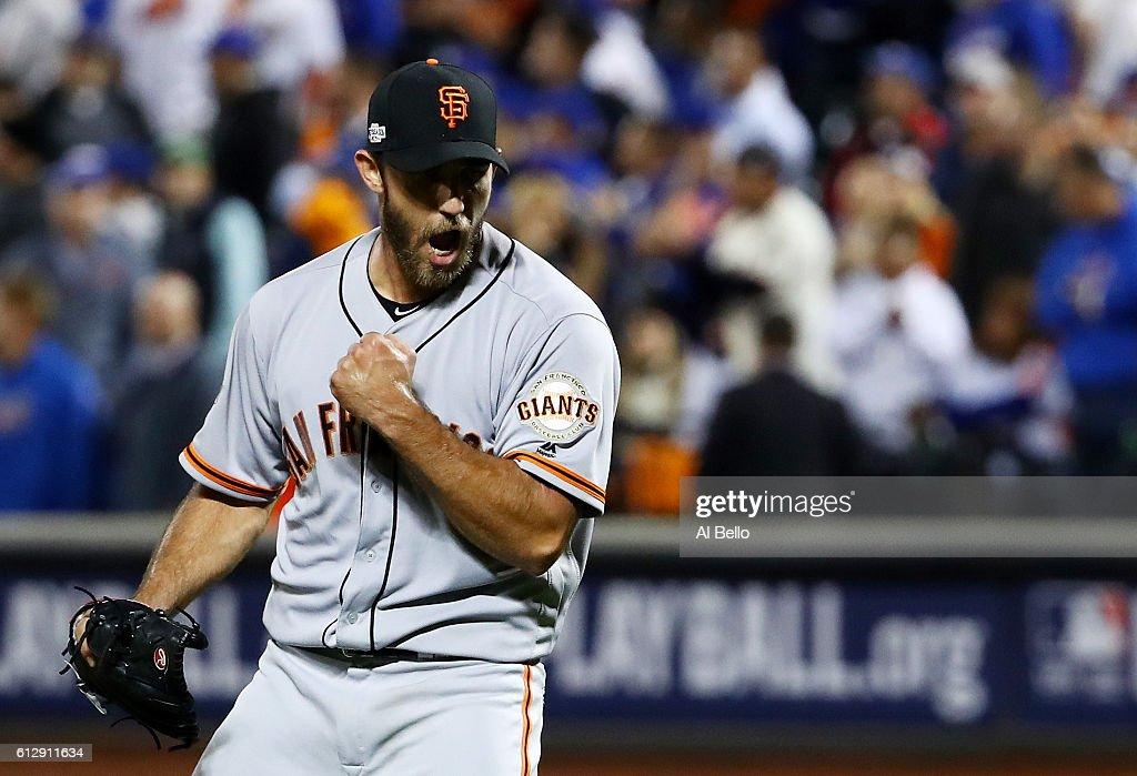 Wild Card Game - San Francisco Giants v New York Mets : News Photo