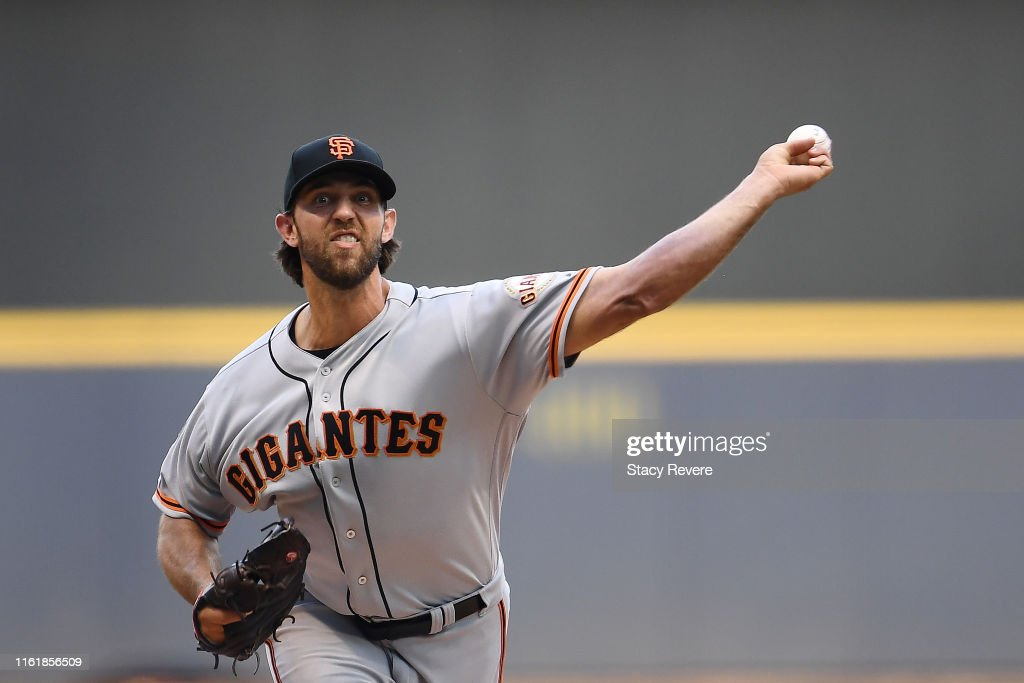 San Francisco Giants v Milwaukee Brewers : News Photo