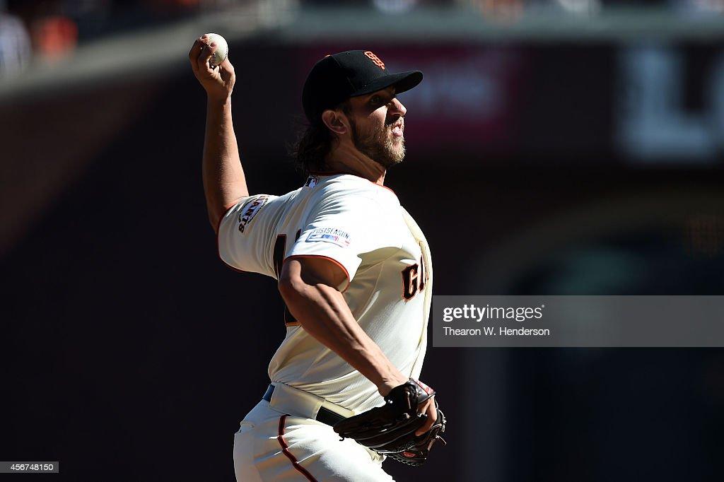 Division Series - Washington Nationals v San Francisco Giants - Game Three : News Photo