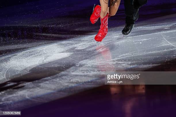 Madison Chock and Evan Bates of the United States perform at the gala exhibition during day 4 of the ISU Four Continents Figure Skating Championships...