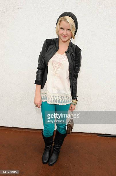 Madison Curtis attends the Shamrock and Roll Concert for St. Jude Children's Hospital on March 17, 2012 in Los Angeles, California.