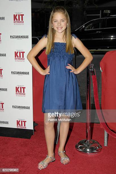Madison Davenport attends Premiere of PICTUREHOUSE's KIT KITTREDGE AN AMERICAN GIRL at The Ziegfeld Theater on June 19 2008 in New York City