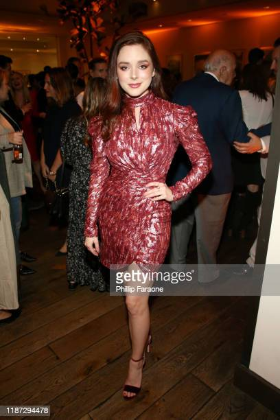 Madison Davenport attends the Hulu LA Press Party 2019 at Spago on November 12 2019 in Beverly Hills California