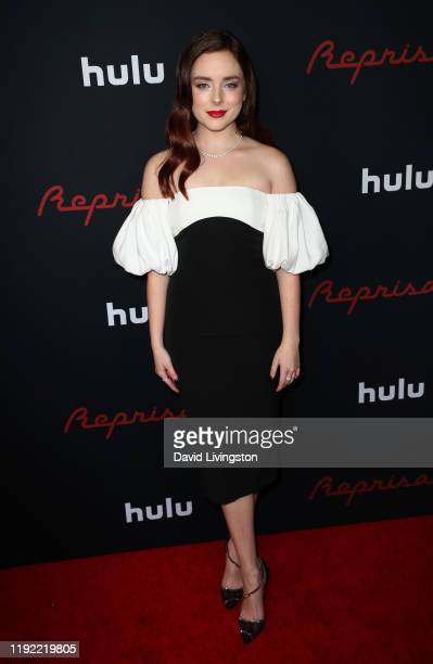 Madison Davenport attends the premiere of Hulu's Reprisal Season One at ArcLight Cinemas on December 05 2019 in Hollywood California