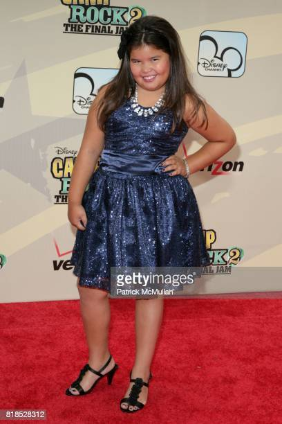 Madison De La Garza attends Disney Channel Hosts 'Camp Rock 2 The Final Jam' at Alice Tully Hall at Lincoln Center on August 18 2010 in New York City