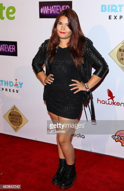 Madison De La Garza attends Madison Pettis Sweet 16 Birthday Party on July 24 2014 at The Emerson Theatre in Hollywood California