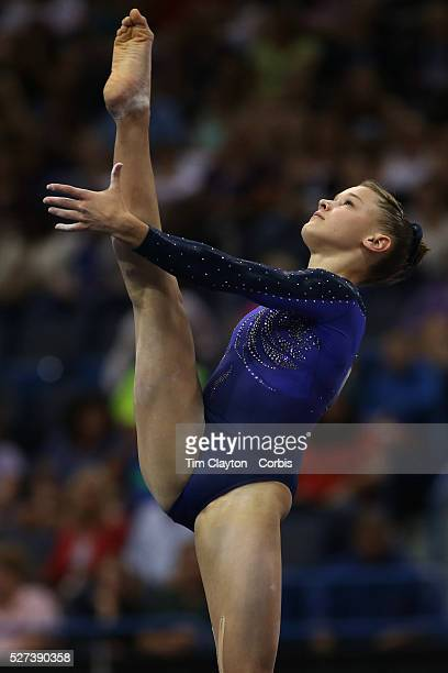 Madison Desch Lenexa Kansas in action during the Senior Women Competition at The 2013 PG Gymnastics Championships USA Gymnastics' National...