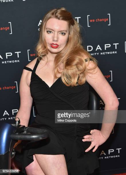 Madison Ferris attends the Adapt Leadership Awards Gala 2018 at Cipriani 42nd Street on March 8 2018 in New York City