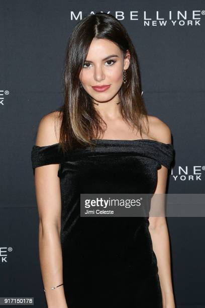 Madison Grace attends Maybelline New York and V Magazine host New York Fashion Week Party at Nomo Soho Hotel on February 11 2018 in New York City