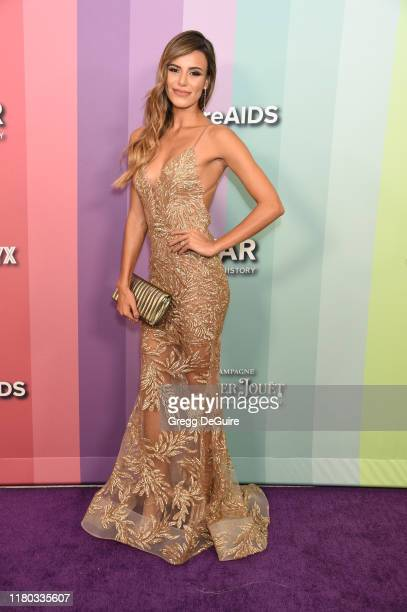 Madison Grace attends the 2019 amfAR Gala Los Angeles at Milk Studios on October 10 2019 in Los Angeles California