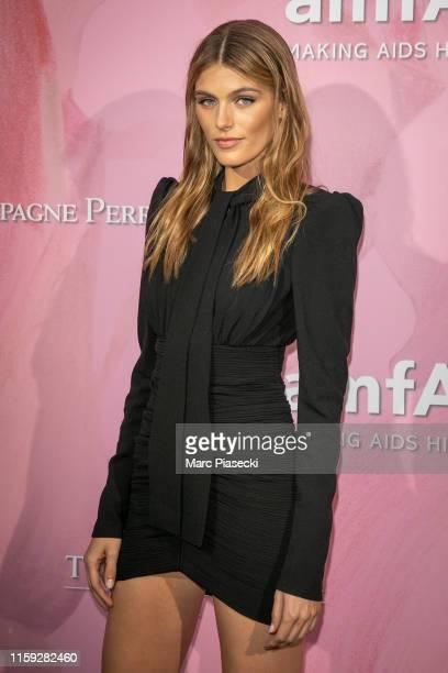 Madison Headrick attends the Amfar Gala At The Peninsula Hotel In Paris on June 30 2019 in Paris France