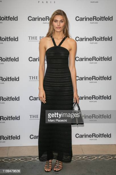 Madison Headrick attends the Carine Roitfeld Parfums 7 lovers Cocktail At The Peninsula Hotel In Paris on July 01 2019 in Paris France