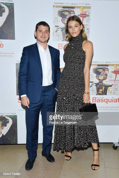Madison Headrick attends the Opening Of The New Exhibitions JeanMichel Basquiat And Egon Schiele At The Fondation Louis Vuitton at Fondation Louis...