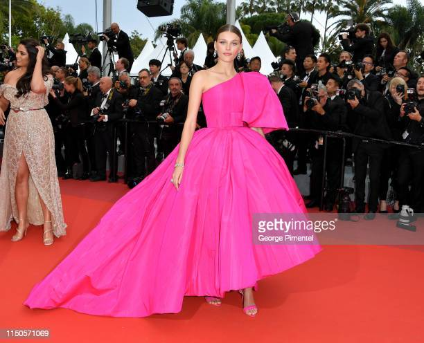 Madison Headrick attends the screening of Le Belle Epoque during the 72nd annual Cannes Film Festival on May 20 2019 in Cannes France