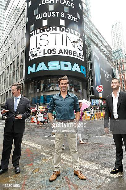 Madison Hildebrand rings the closing bell at the NASDAQ MarketSite on August 8 2013 in New York City