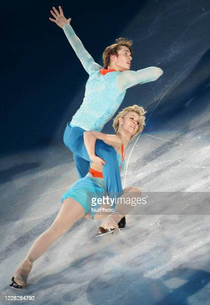 Madison Hubbell and Keiffer Hubbell performs during the gala exhibition of the ISU Grand Prix of Figure Skating Final Exhibition 2008/2009 in Goyang...