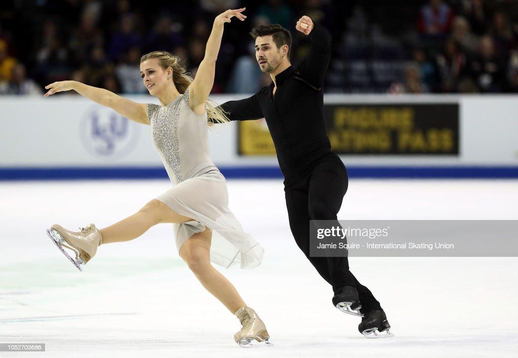 ISU Grand Prix of Figure Skating Skate America : News Photo