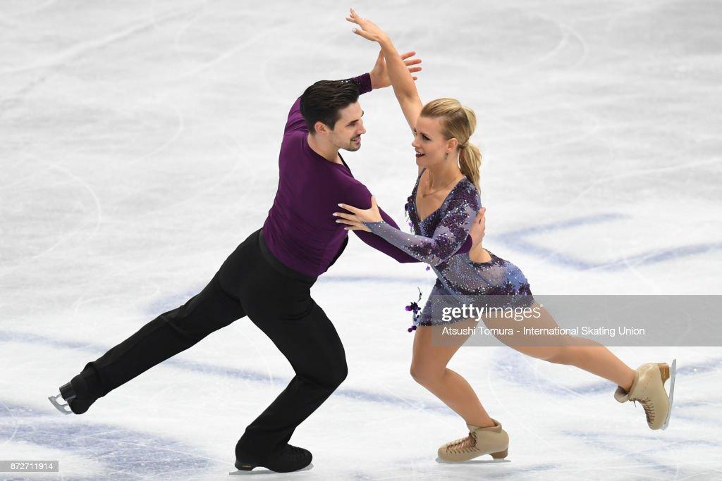 ISU Grand Prix of Figure Skating - Osaka : Foto jornalística