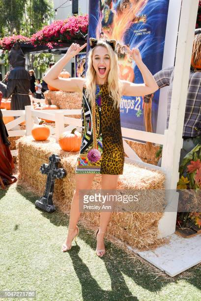 Madison Iseman attends Columbia Pictures and Sony Pictures Animation's Goosebumps 2 Haunted Halloween special screening at Sony Pictures Studios on...