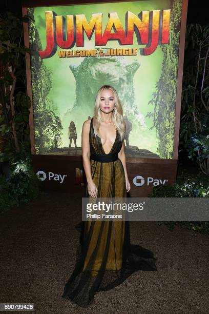 Madison Iseman attends the premiere of Columbia Pictures' Jumanji Welcome To The Jungle on December 11 2017 in Hollywood California