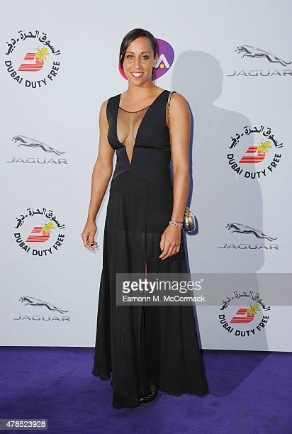 Madison Keys attends the annual WTA PreWimbledon Party presented by Dubai Duty Free at The Roof Gardens Kensington on June 25 2015 in London England