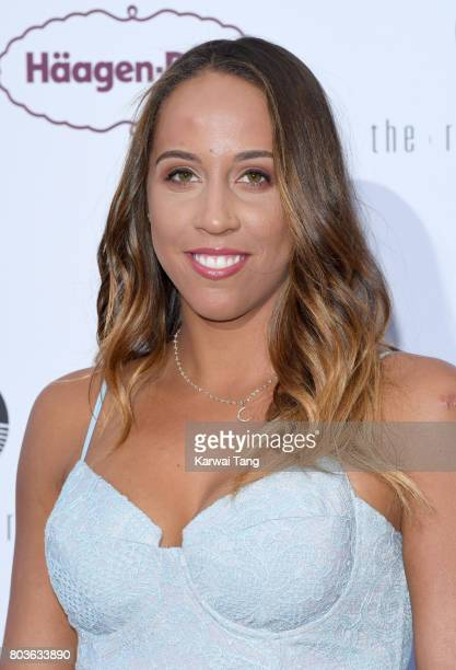 Madison Keys attends the WTA PreWimbledon party at Kensington Roof Gardens on June 29 2017 in London England