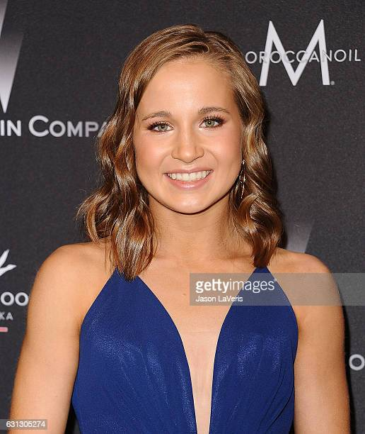 Madison Kocian attends the 2017 Weinstein Company and Netflix Golden Globes after party on January 8 2017 in Los Angeles California