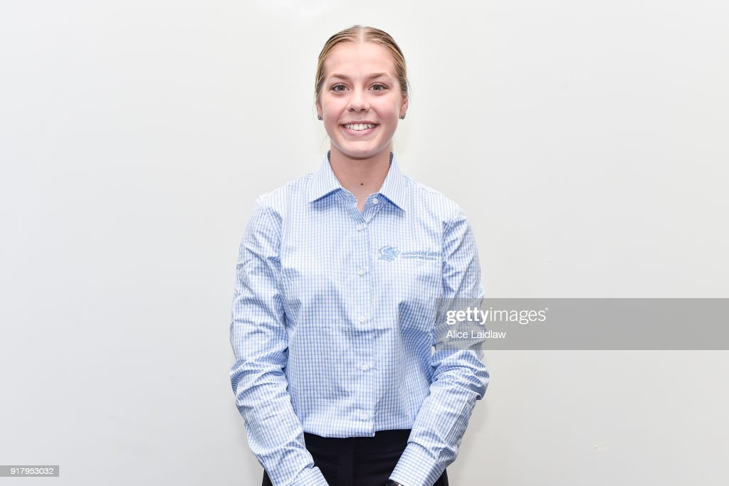 Madison Lloyd at the Apprentice Jockeys Induction at Racing Victoria on February 14, 2018 in Flemington, Australia.