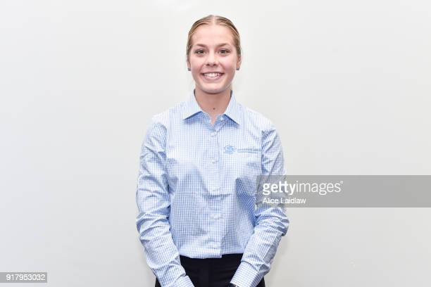 Madison Lloyd at the Apprentice Jockeys Induction at Racing Victoria on February 14 2018 in Flemington Australia