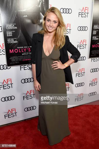 Madison McKinley attends the screening of Molly's Game at the Closing Night Gala at AFI FEST 2017 Presented By Audi on November 16 2017 in Hollywood...