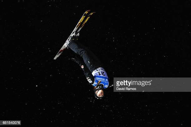 Madison Olsen of the United States during the Women's Aerials Final on day three of the FIS Freestyle Ski and Snowboard World Championships 2017 on...
